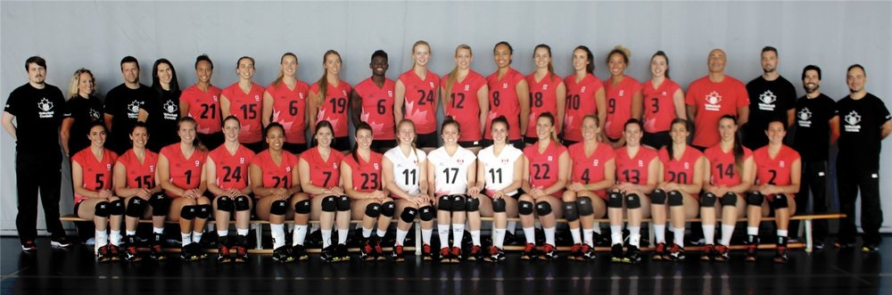 Team Canada Women's Volleyball