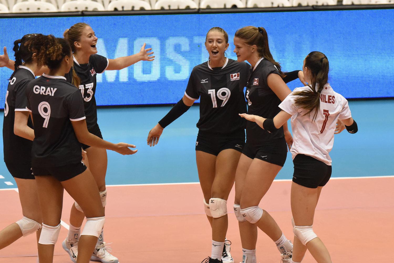 Volleyball Source - Indoor: Team Canada Women Push Past Cuba