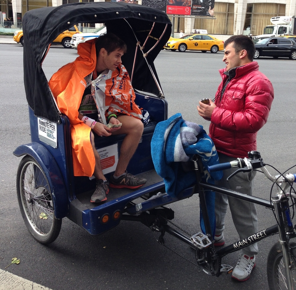 $48 for a 7 block pedicab ride