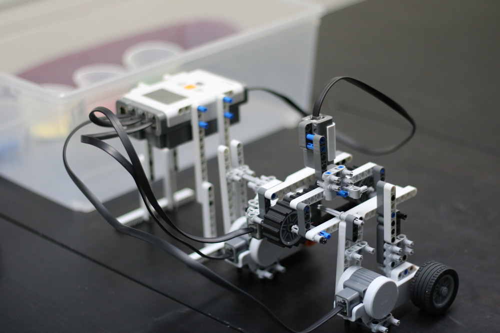 Robotics is another example of a class that has benefited from the support of the Boosters.