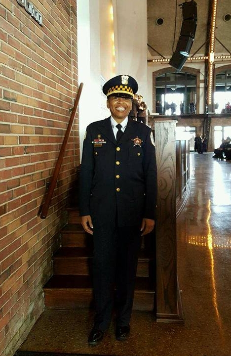 CPD Captain Crystal King Smith