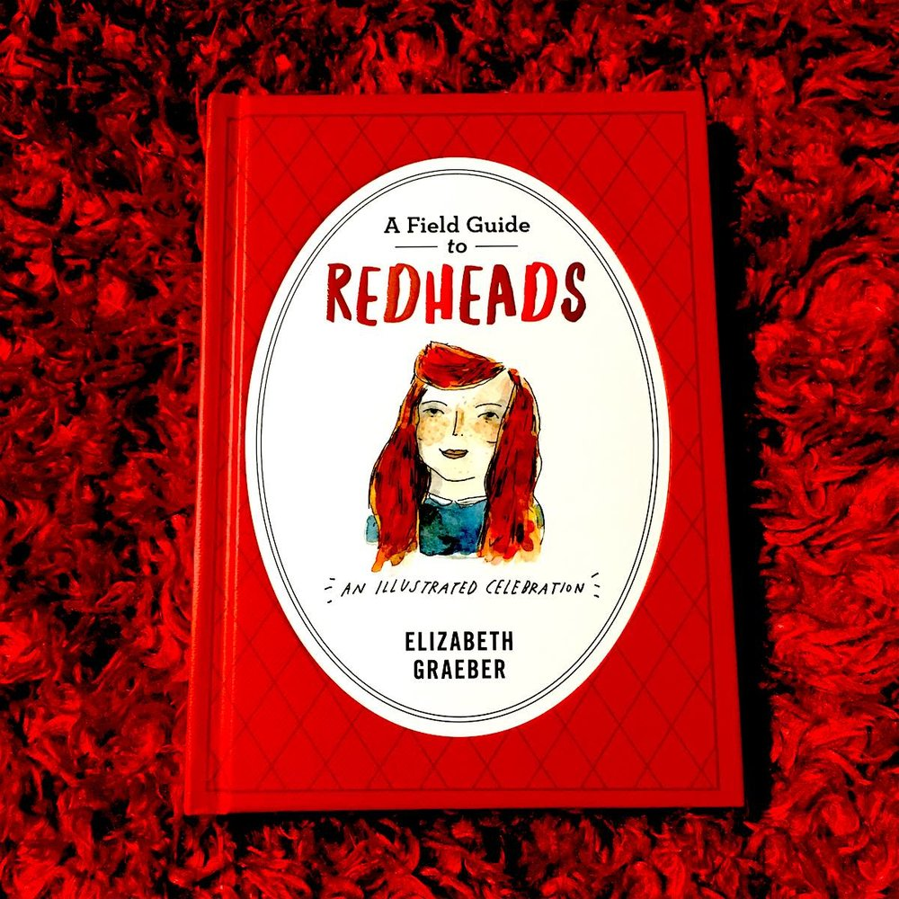 For redheads, and people who love them,  get past the slightly disturbing title and enjoy this collection  of people, places, and things, all with red on top.