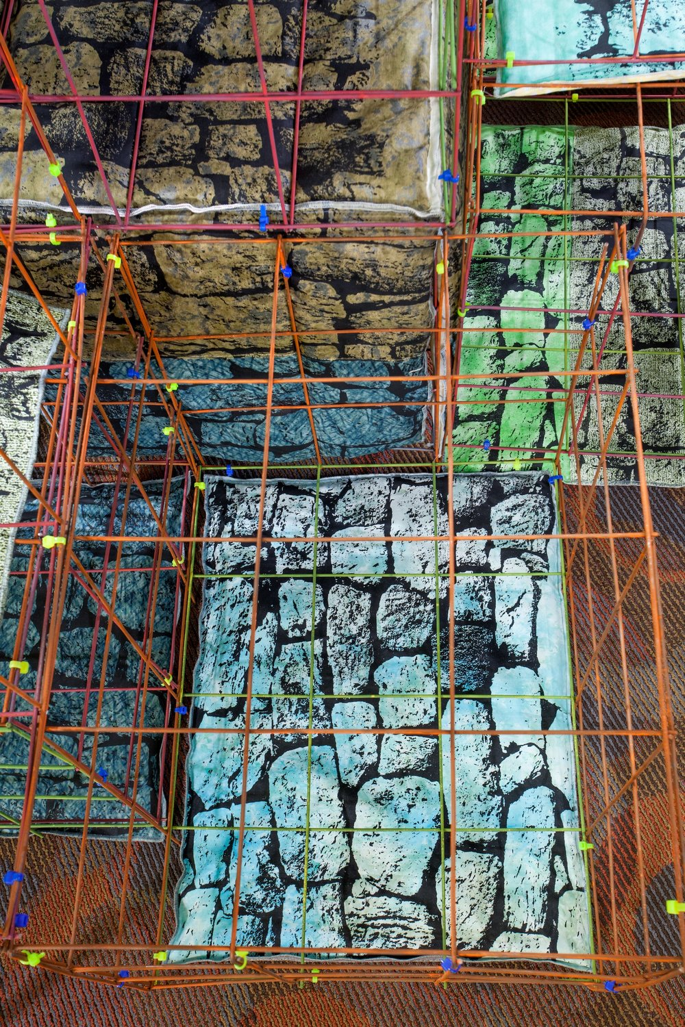 Steep Grade (Gabion Wall)