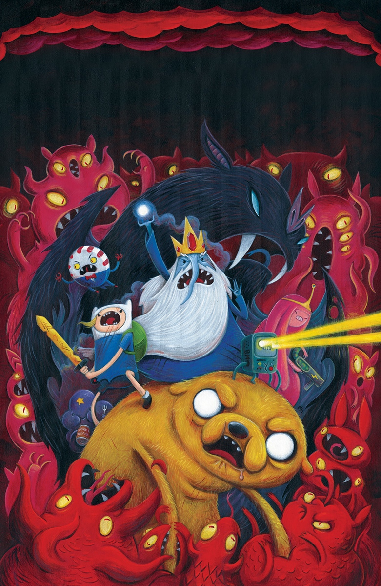 Adventure Time #36 Cover