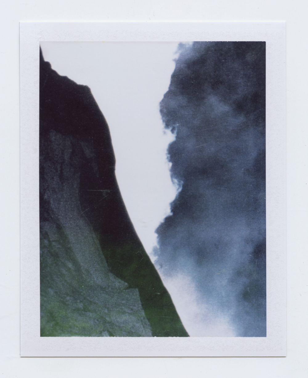 seeking composure  Polaroid of found National Geographic, 2015   Statement + Info