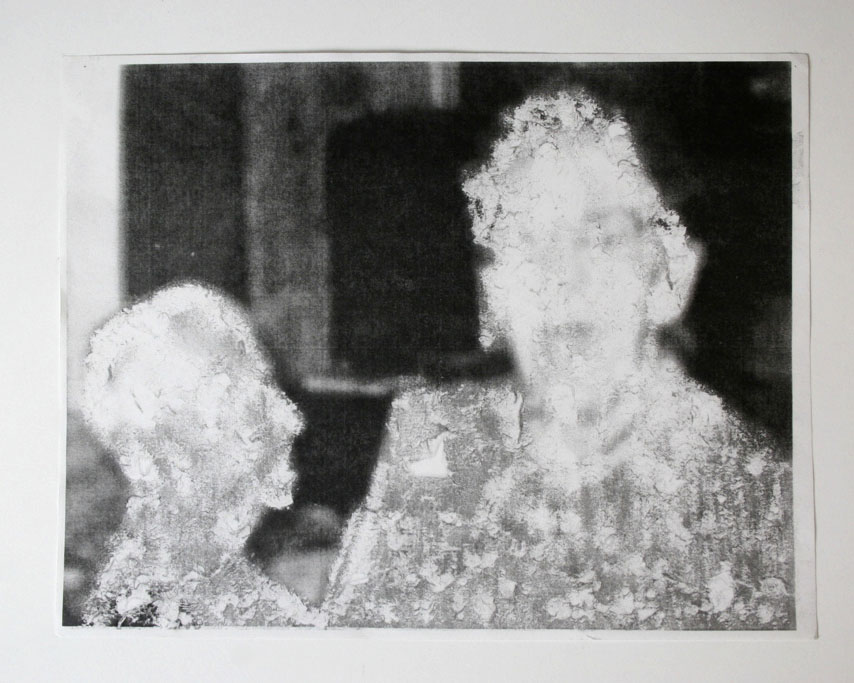 Untitled (Woman and Man) , Lillian Hern-Fondation, Xerox, 2008