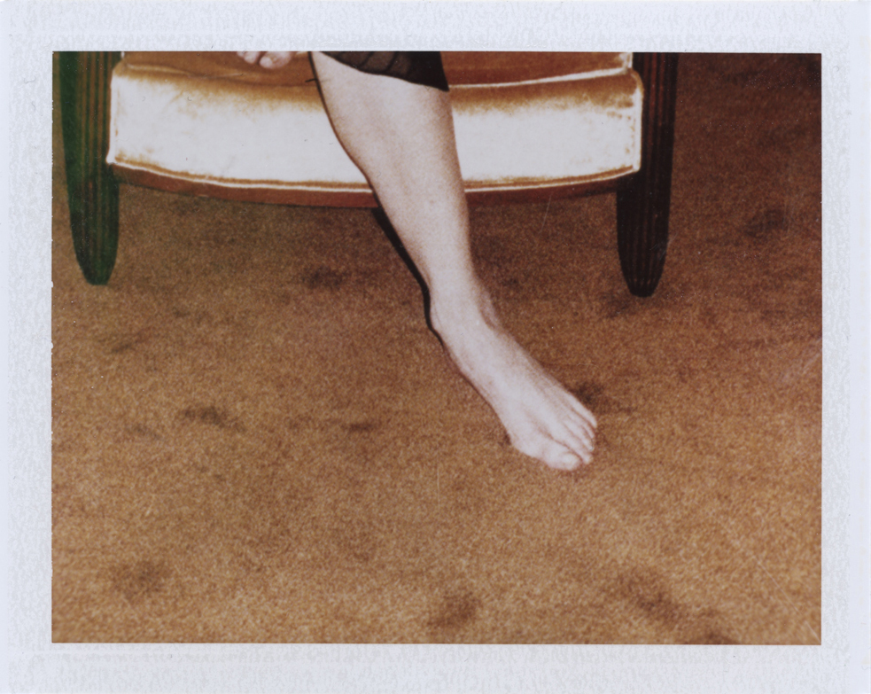 Her memory  Instant film photograph, 2013   Info + Statement
