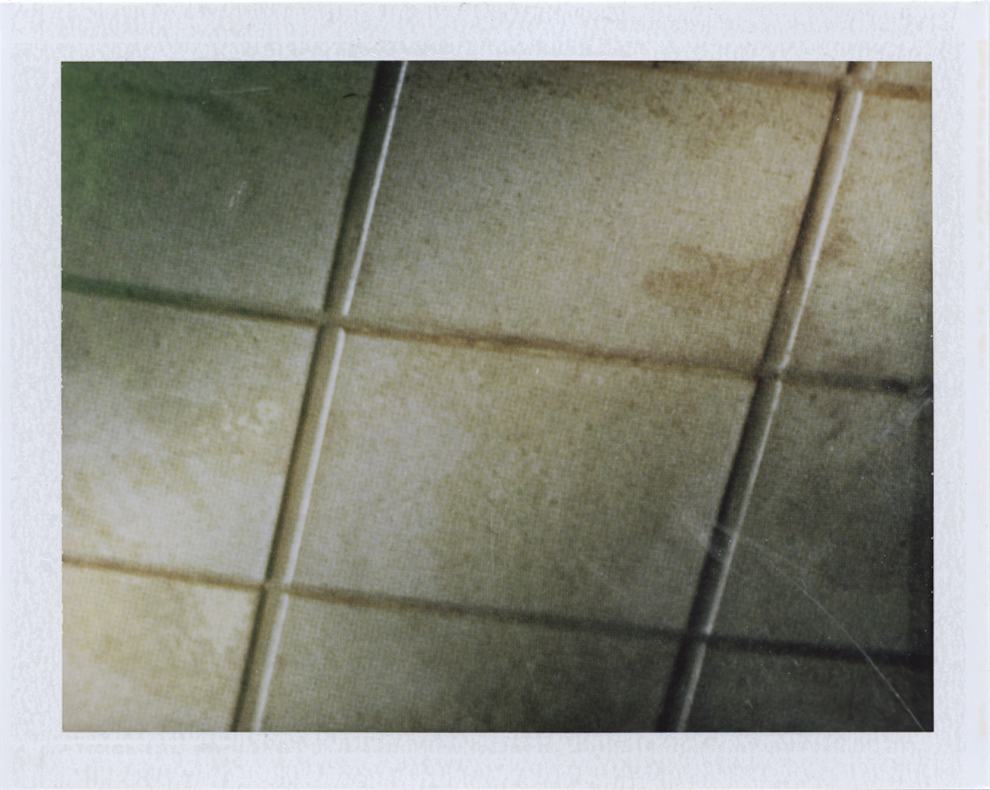 Highest highs and lowest lows  Instant film photograph, 2013   Info + Statement