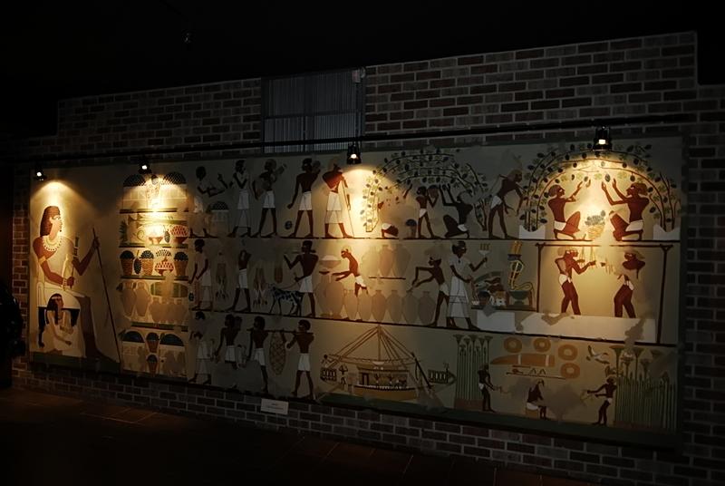 Egyptians enjoyed drinking, too.