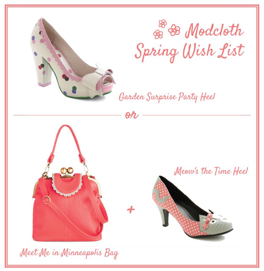 Modcloth Spring Wish List // The LBeau Room