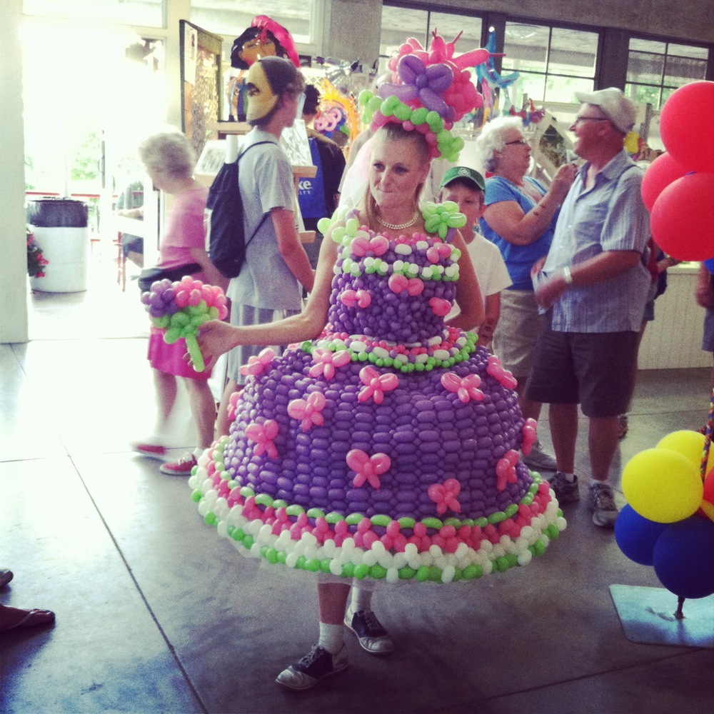 Balloon Lady at the Iowa State Fair from The LBeau Room