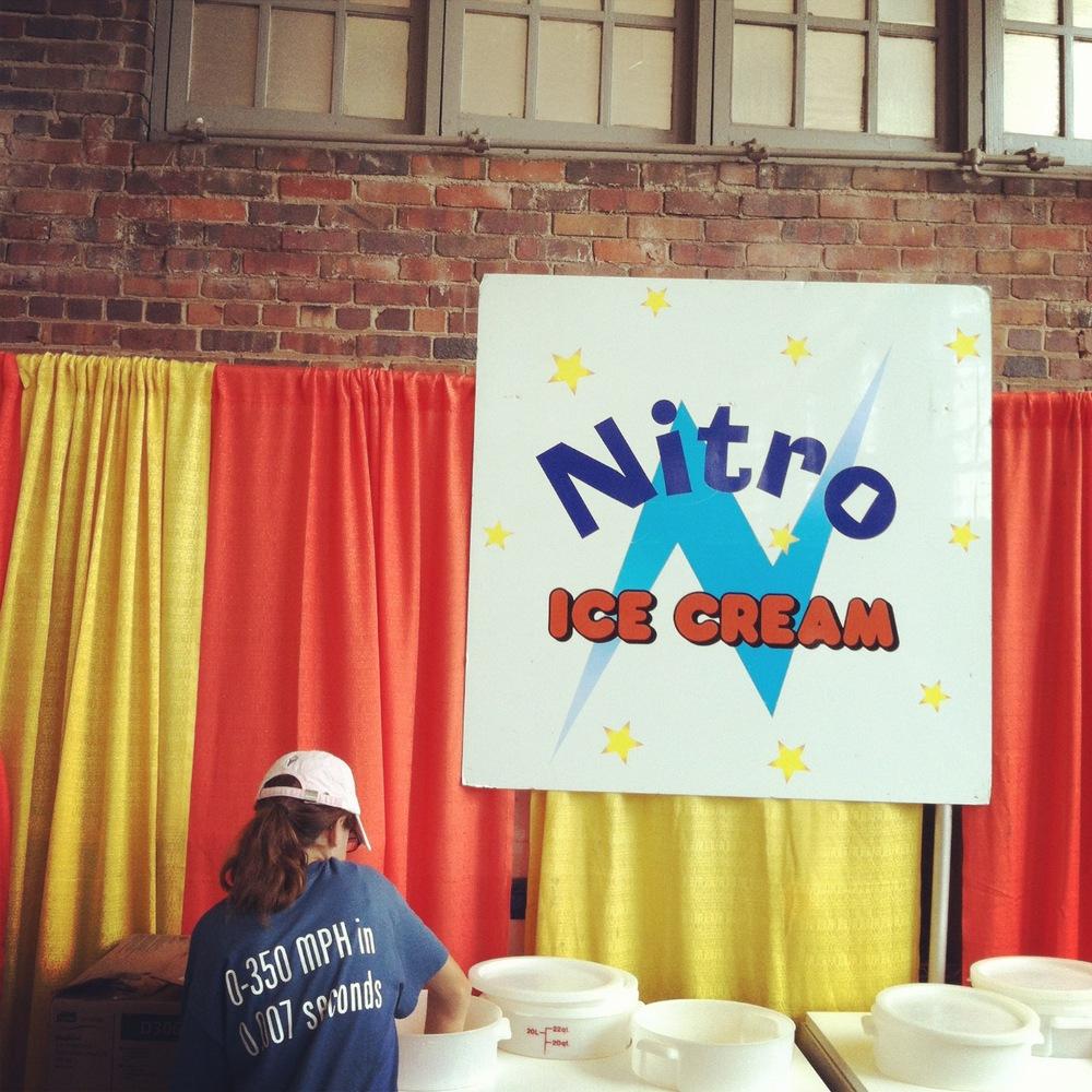 Nitro Ice Cream at the Iowa State Fair from The LBeau Room