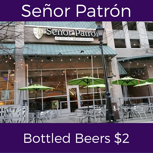 spit wednesday specials at senor patron