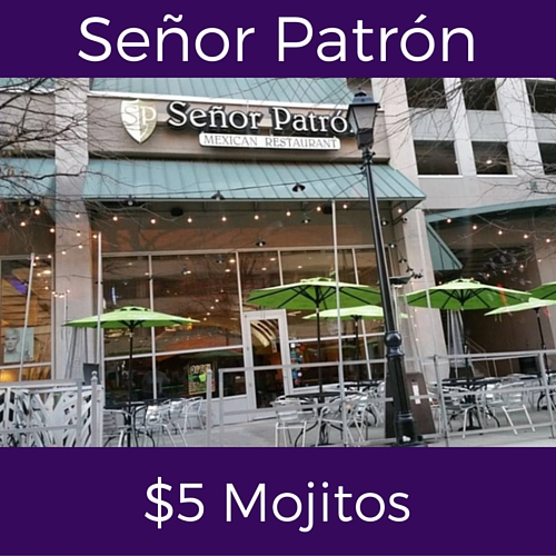splits sunday specials at senor patron