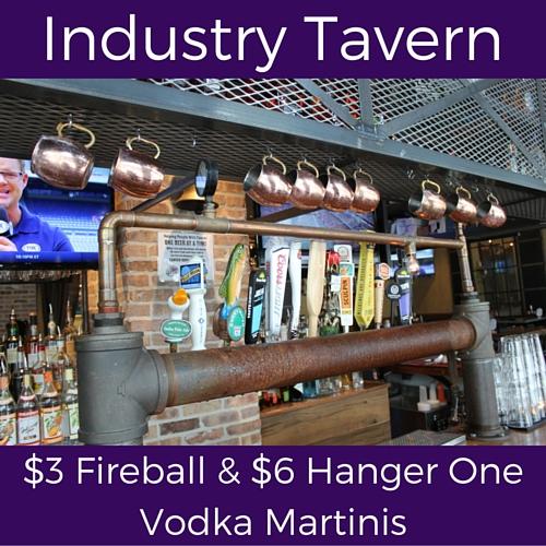 split friday specials at industry tavern