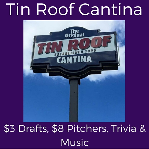 splits tuesday specials at tin roof cantina