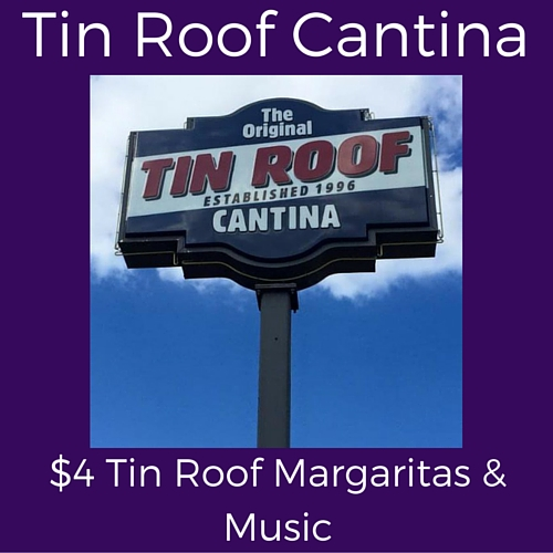 splits wednesday specials at tin roof cantina