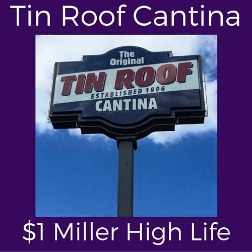 Tin Roof Cantina Split Special