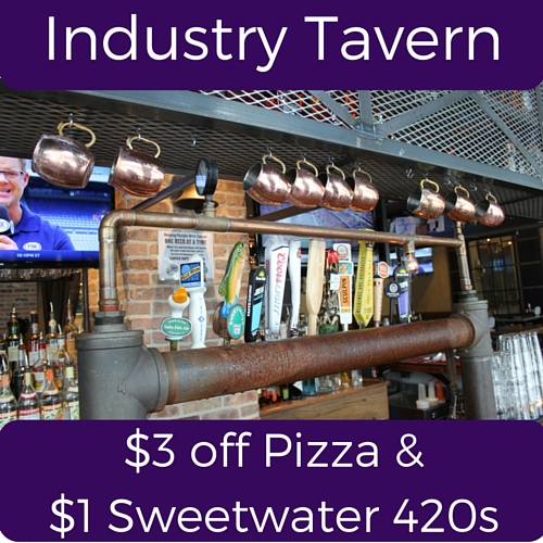 Industry Tavern Split Specials