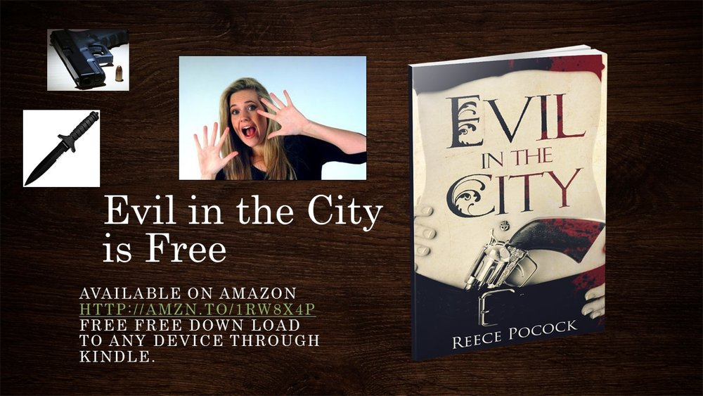 FREE, FREE, FREE, Evil in the City is Free, Download her -   http://bit.ly/1Aq8npr