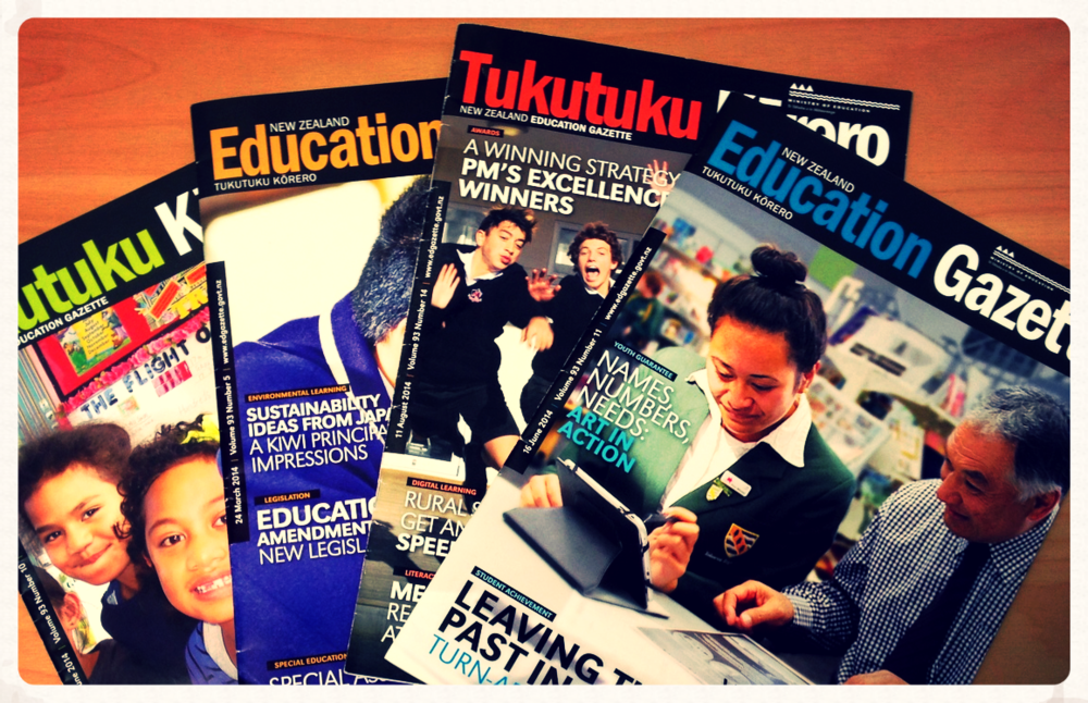 The Education Gazette, the NZ Ministry of Education's magazine. The Education Gazettewebsite is the best place to find teacher vacancy advertisements in New Zealand.