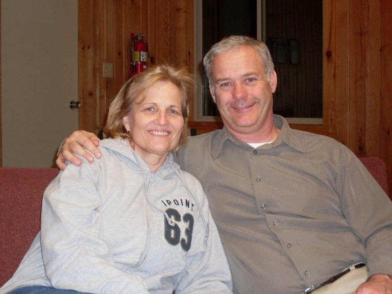 Regional Pastor Gary Witkop with his wife Debra