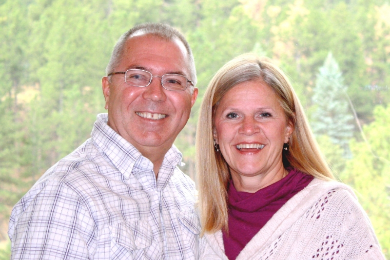 Regional Pastor Warren Geraghty with his wife Cindy