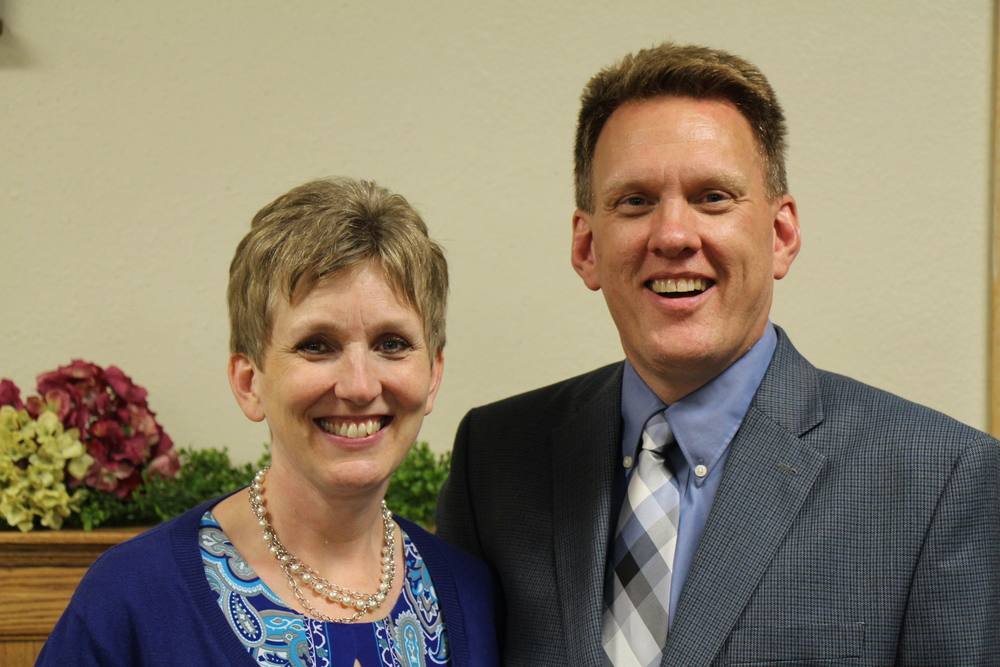 Regional Pastor Roger Olson with his wife Carol