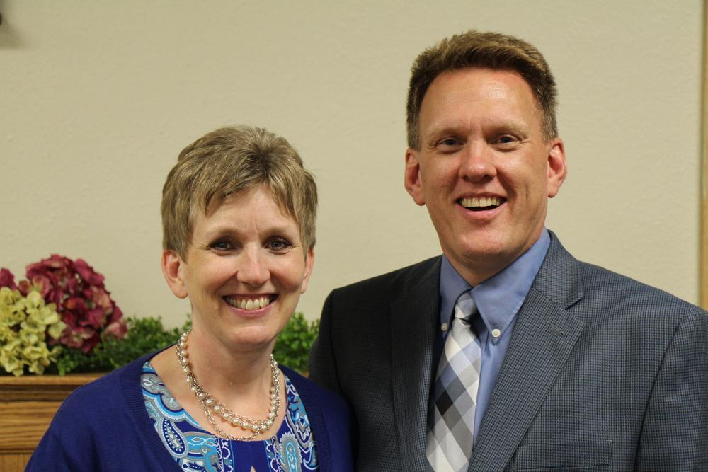 Regional Pastor Roger and Carol Olson