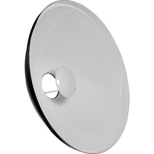 BEAUTY DISH REFLECTOR   -SOFT BUT CRISP LIGHT QUALITY  -OFFERS CONTRAST AND TEXTURE  -NATURAL CATCHLIGHTS IN EYES