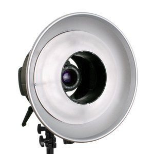The AlienBees ABR800 Ringflash Unit   -SELF-CONTAINED RINGFLASH FOR SHADOW-FREE LIGHTING
