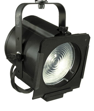 6 FRESNEL - 65Q    750-WATT 6ʺ FRESNEL   FEATURES:    SHEET-STEEL WELDED CONSTRUCTION  SPECULAR SPHERICAL ALZAK ALUMINUM REFLECTOR    SPOT-TO-FLOOD FOCUS ADJUSTMENT