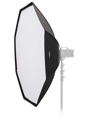 """THIS 60"""" (150 CM)  DYNALITE OCTAGON BOX  FROM RIME LITE IS AN 8-SIDED SOFTBOX WHICH IS DESIGNED TO OFFER THE ULTIMATE IN SOFT LIGHT WITH CONSISTENT EDGE-TO-EDGE COVERAGE.  8-SIDED SOFTBOX   SOFT, WRAP-AROUND LIGH T  LIGHTWEIGHT RODS  COLORFAST MATERIAL  UV COATING ELIMINATES BLUE CAST"""