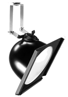 """4 SCOOP 153    400 WATT 10"""" SCOOP/WORKLIGHT FEATURES:   THE 153 SCOOP/WORKLIGHT PRODUCES A VERY DIFFUSE SOFT EDGED BEAM OF 12.6 FEET IN DIAMETER AT A DISTANCE OF 5 FEET. THE LUMINAIRE IS USED IN THEATRE AND TELEVISION AS A FLOOD LIGHT WHERE SPACE LIMITATION IS A FACTOR. THE SCOOP IS AN IDEAL FIXTURE AS A WORK LIGHT, SET HALLWAY AND WINDOW BACKINGS WHERE COLOR BLENDING AND SMOOTH EVEN WASHES OF LIGHT ARE REQUIRED."""