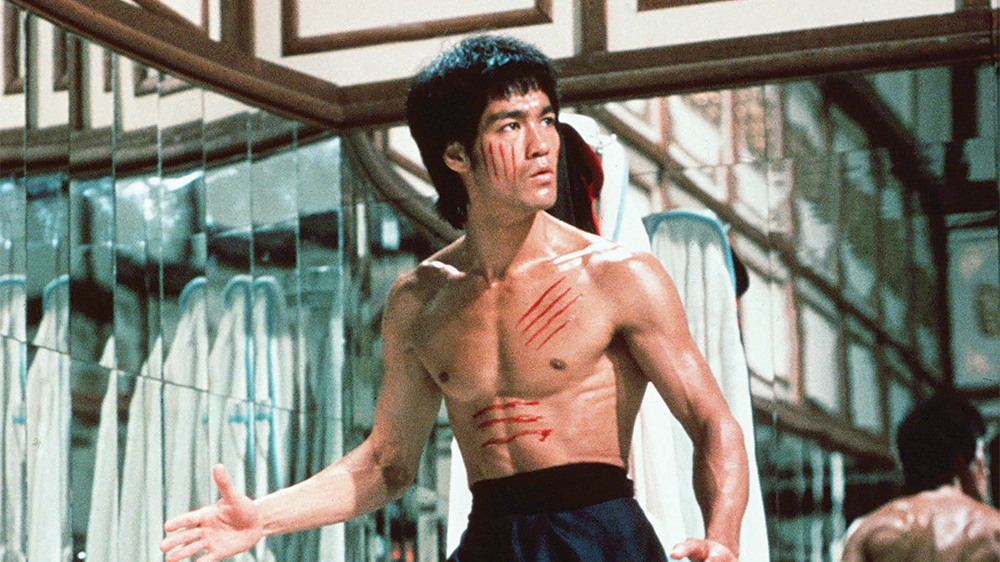 "Source: ""Enter The Dragon"" with Bruce Lee by  Robert Clouse  and  Michael Allin"