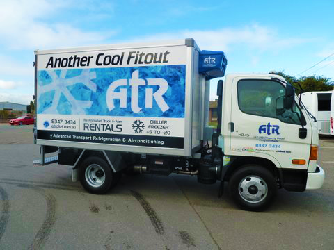 ATR Vehicle signage design