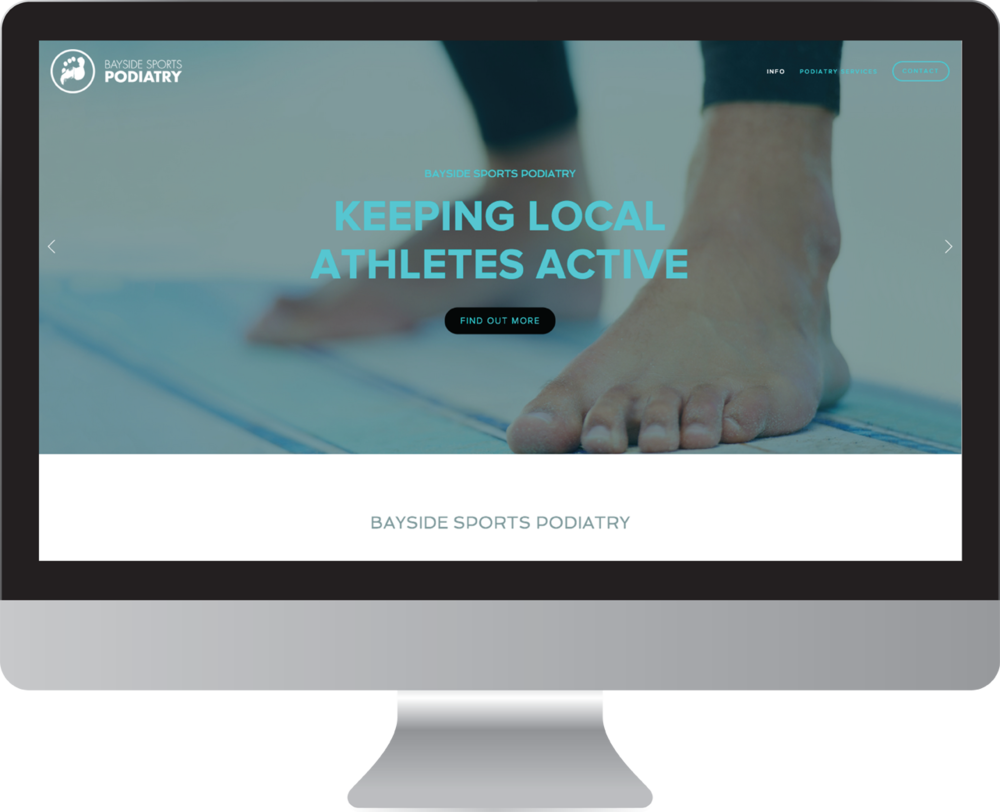 Bayside Podiatry Website Design