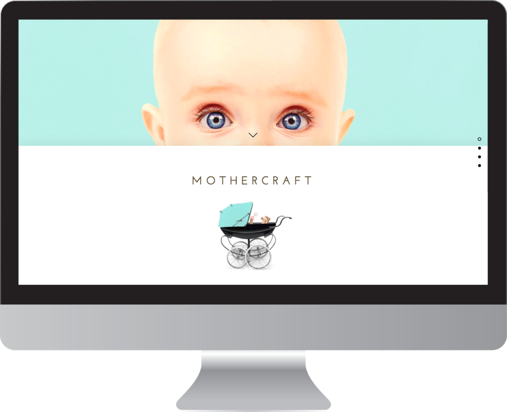 Baby Care Website Design