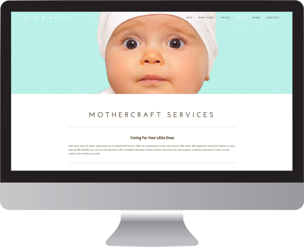 Mothercraft Website Design