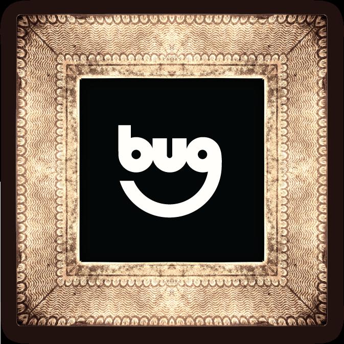 BUG Online Data brand design