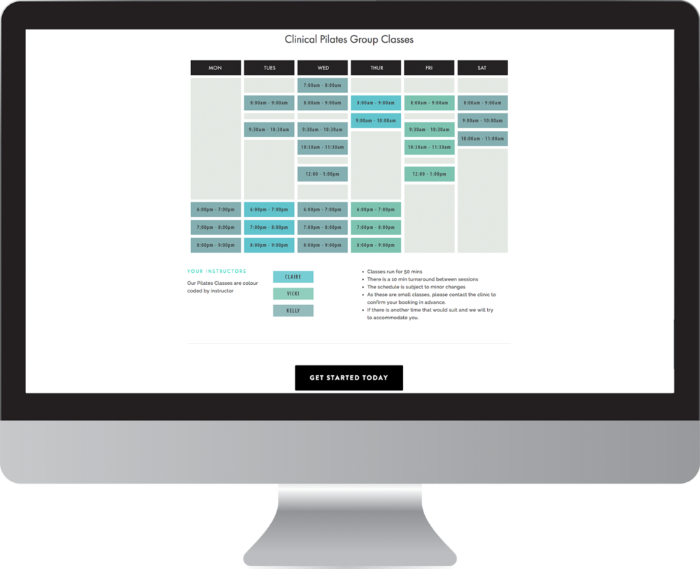 Seaview Health Group Website Design