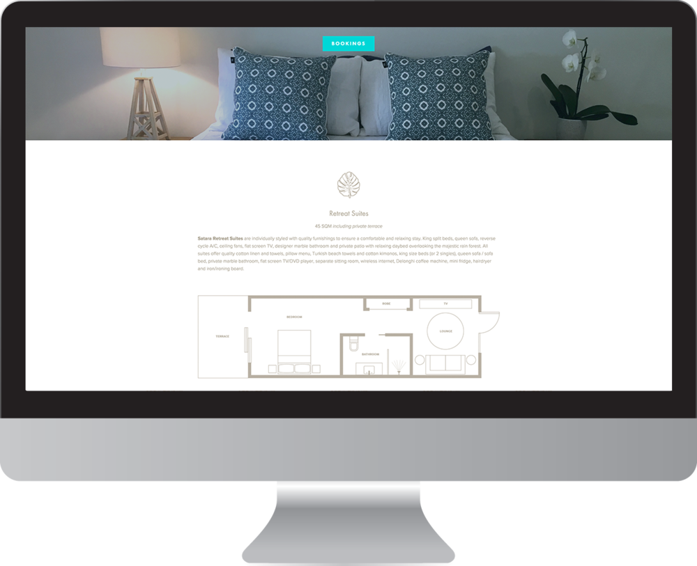 Satara Byron Bay website designer