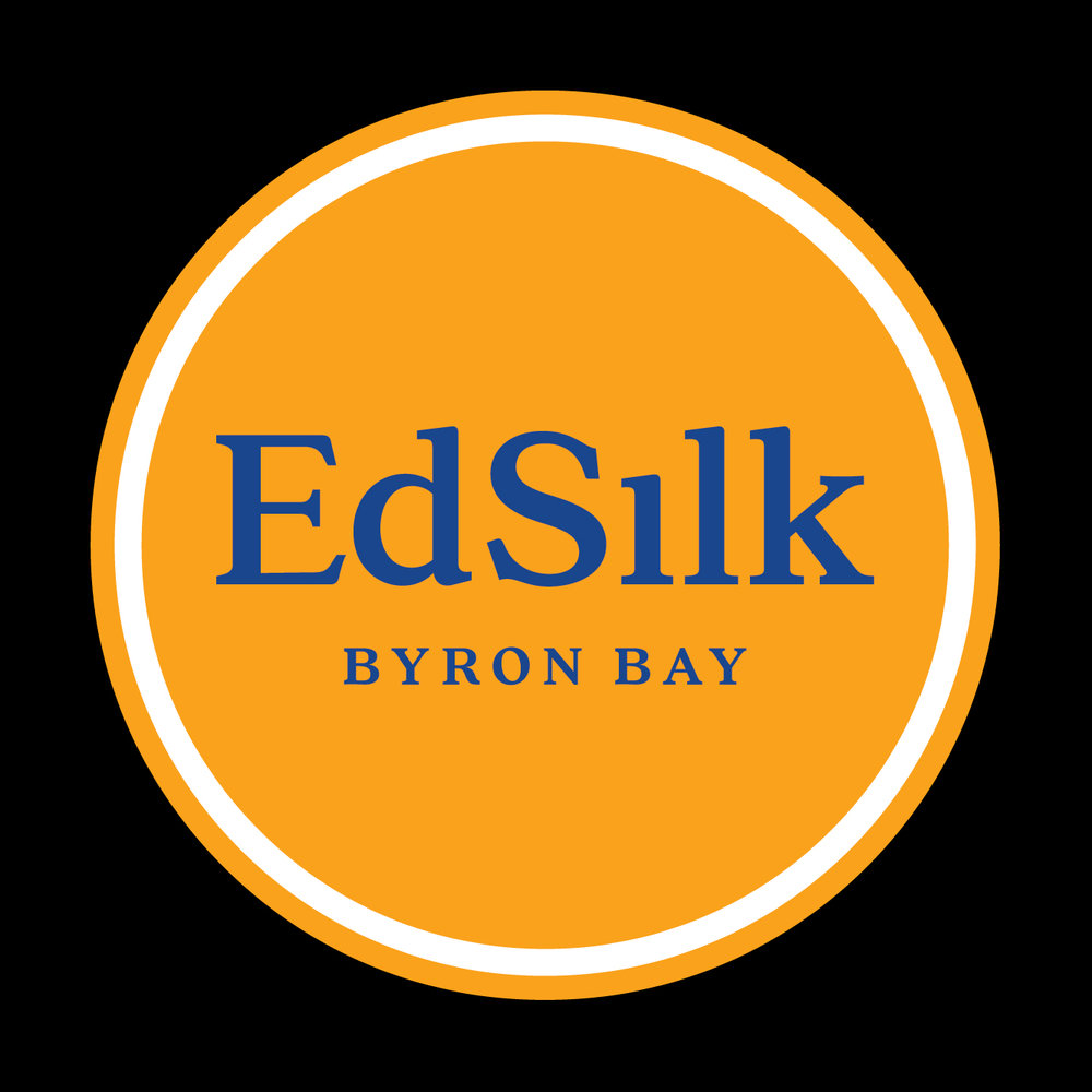 Ed Silk Byron Bay Logo Design