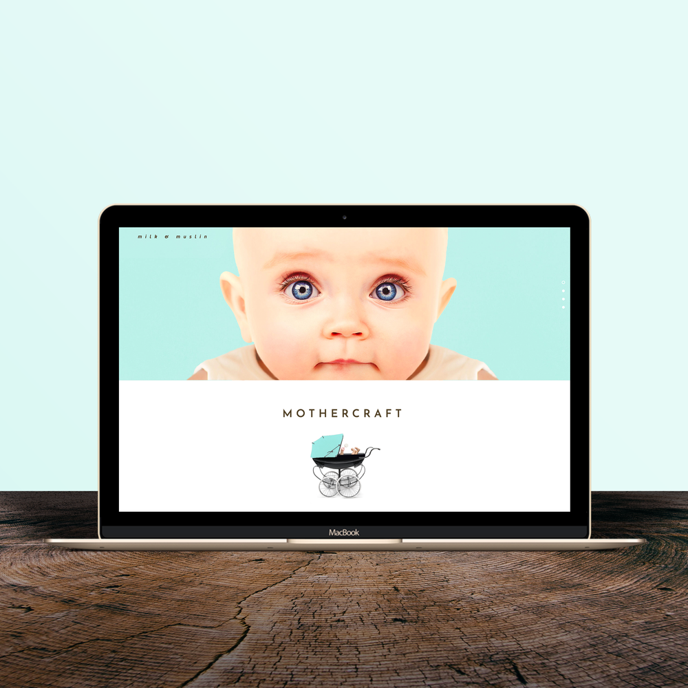 Brand & Web Design - INTERNATIONAL BABYCARE SERVICE SPECIALISING IN MOTHERCRAFT AND BABY SLEEP THERAPY