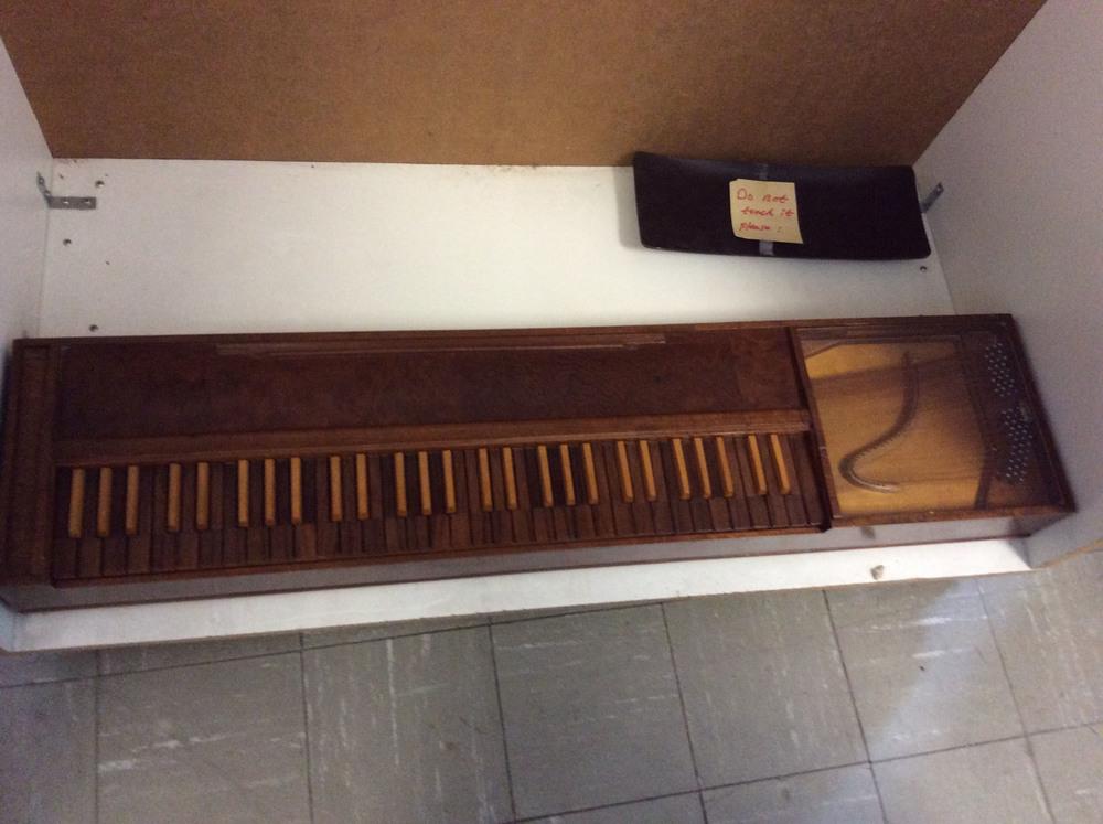 Instruments: Clavichord