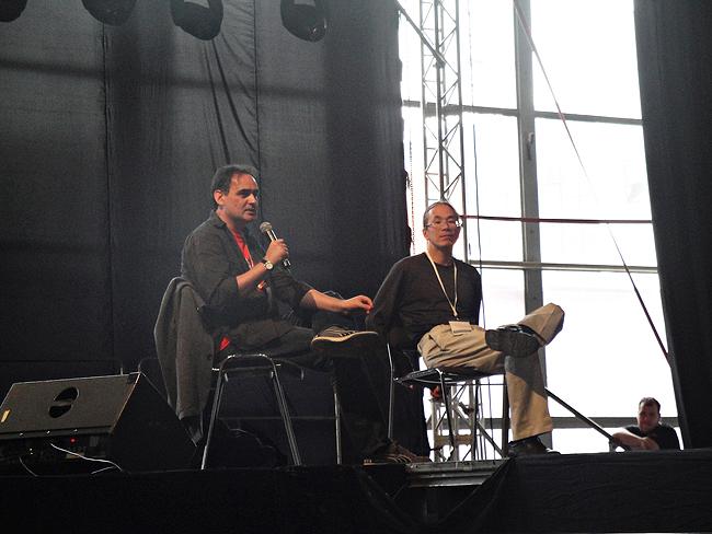 Nasz udział w Pyrkonie 2015 zakończył się ekscytującym finałem, czyli spotkaniem autorskim Teda Chianga.