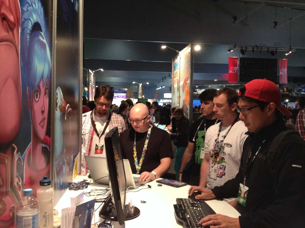 Demoing Defect at PAX Australia 2014
