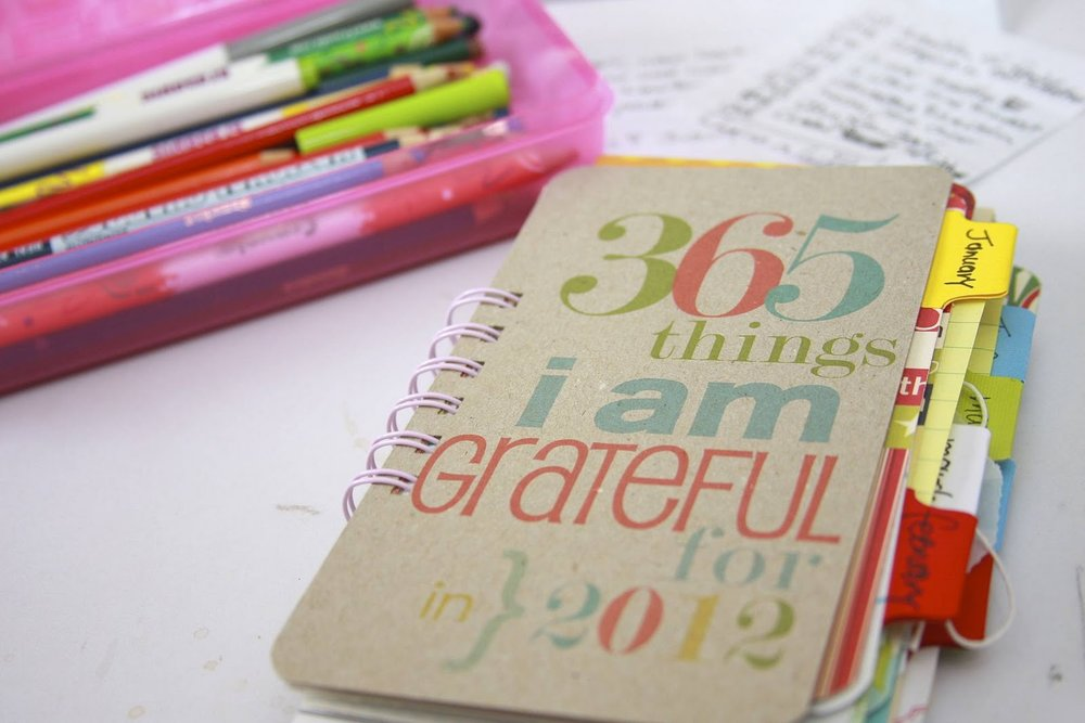 Of all my journals, my Gratitude Journals feeds my writer's soul best.