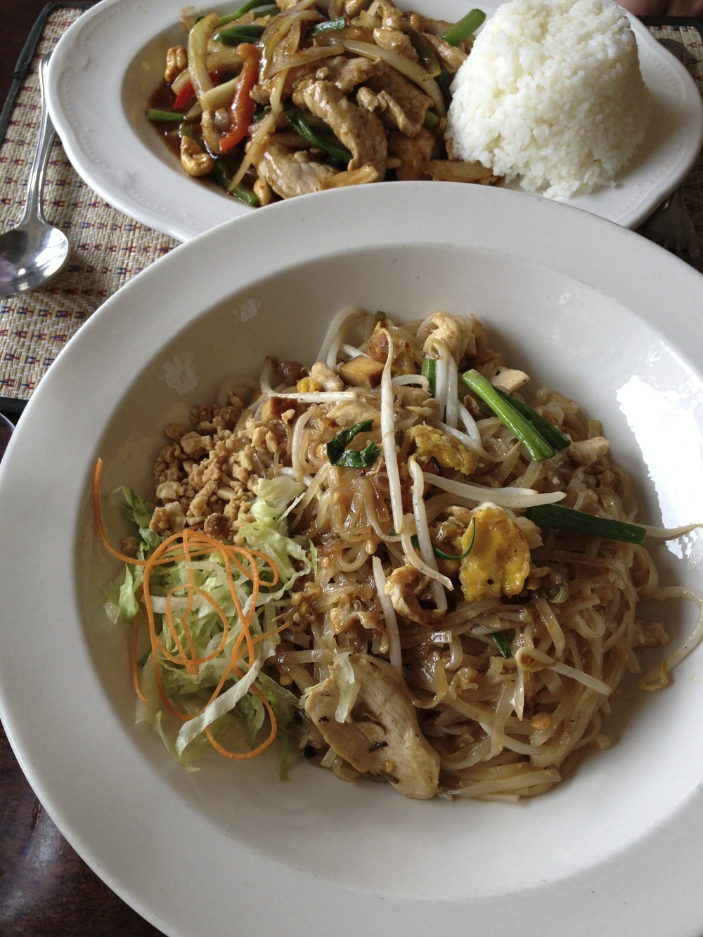 Pad Thai at Brookside Thai
