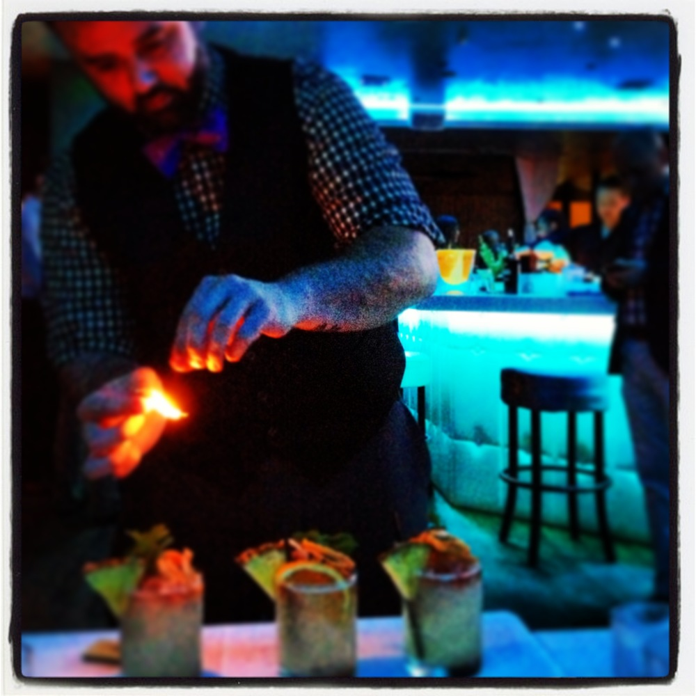 Mixologist and champion, Christopher James.